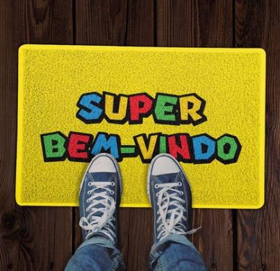 Capacho 60x40cm Super Bem-vindo