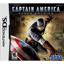 Captain America Super Soldier (USADO) - NIntendo DS