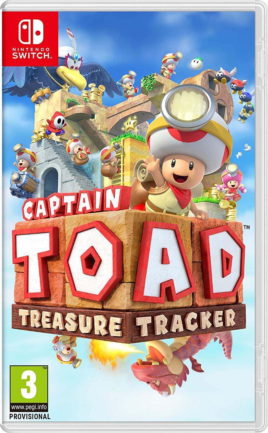 Captain Toad: Treasure Tracker - Nintendo Switch - Envio Internacional