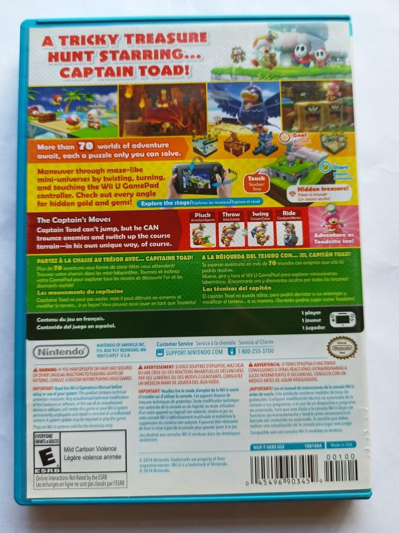 Captain Toad: Treasure Tracker - USADO - Nintendo Wii U