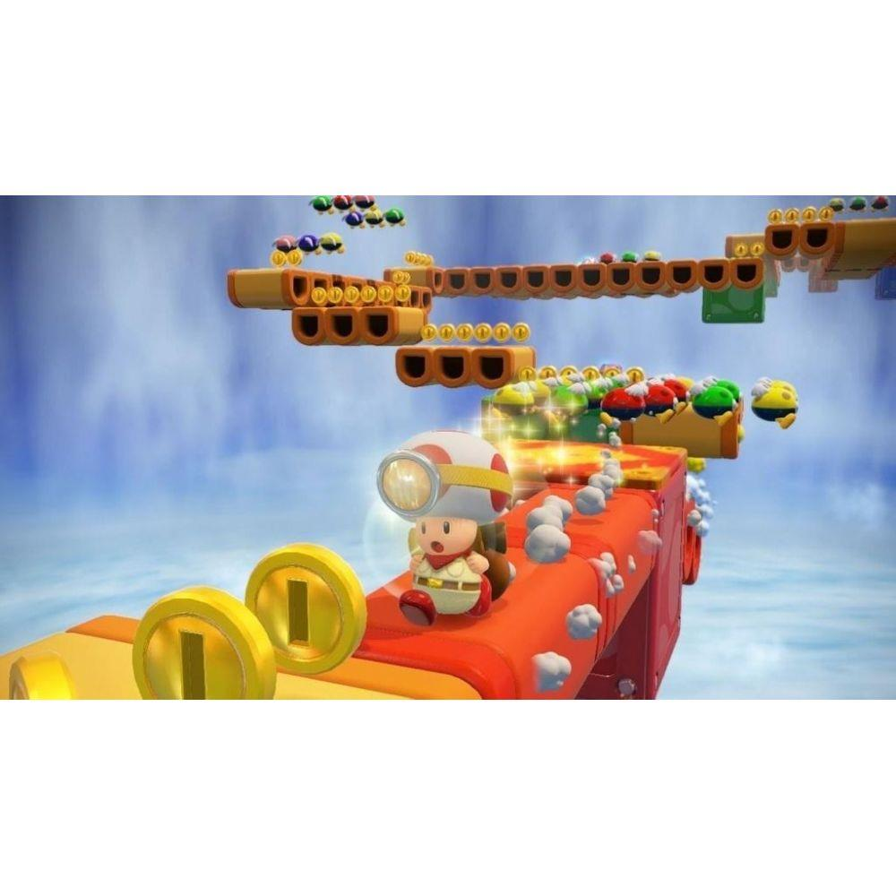 Captain Toad: Treasure Tracker - USADOS - Nintendo Wii U