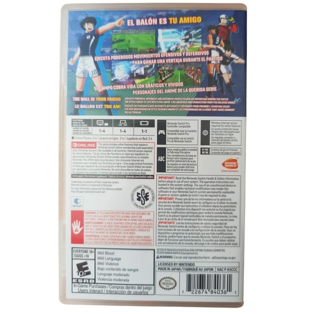Captain Tsubasa: Rise of New Champions - Nintendo Switch - Usado