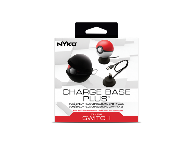 Carregador Charge Base Plus Pokeball Niko - Nintendo Switch