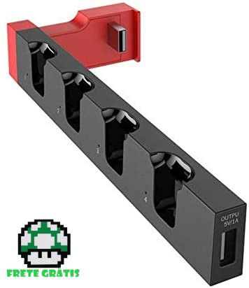 Carregador para Switch - Nintendo Switch - Envio Internacional - Frete Grátis