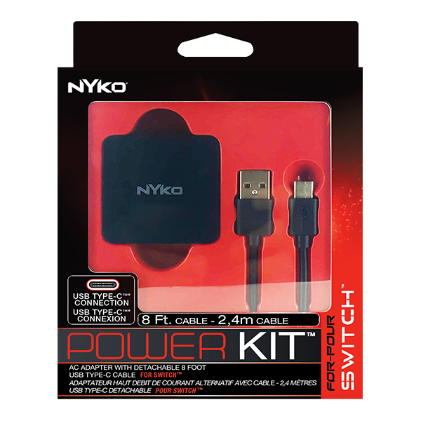 Carregador Power Kit Nyko - Nintendo Switch