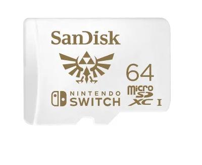 Cartão De Memória Sandisk 64 GB - Nintendo Switch
