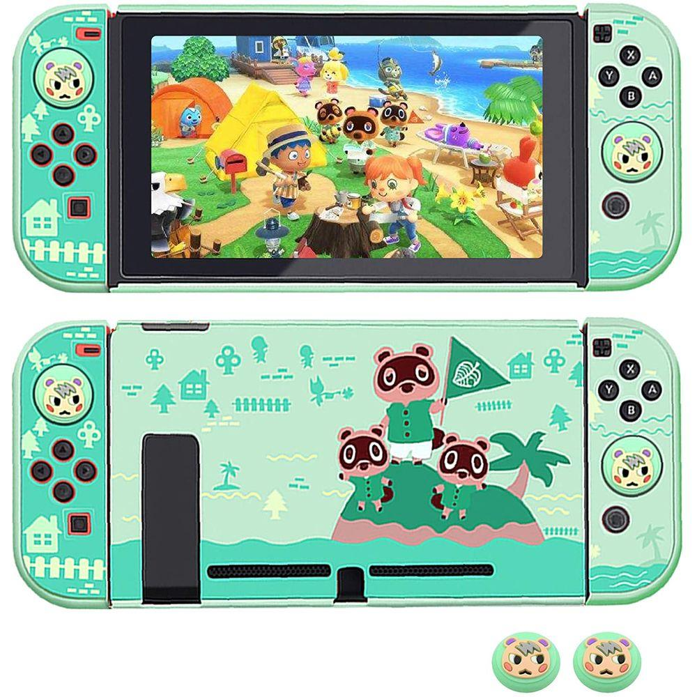 Case Capa Protetora de Acrílico - Animal Crossing 2 - Nintendo Switch