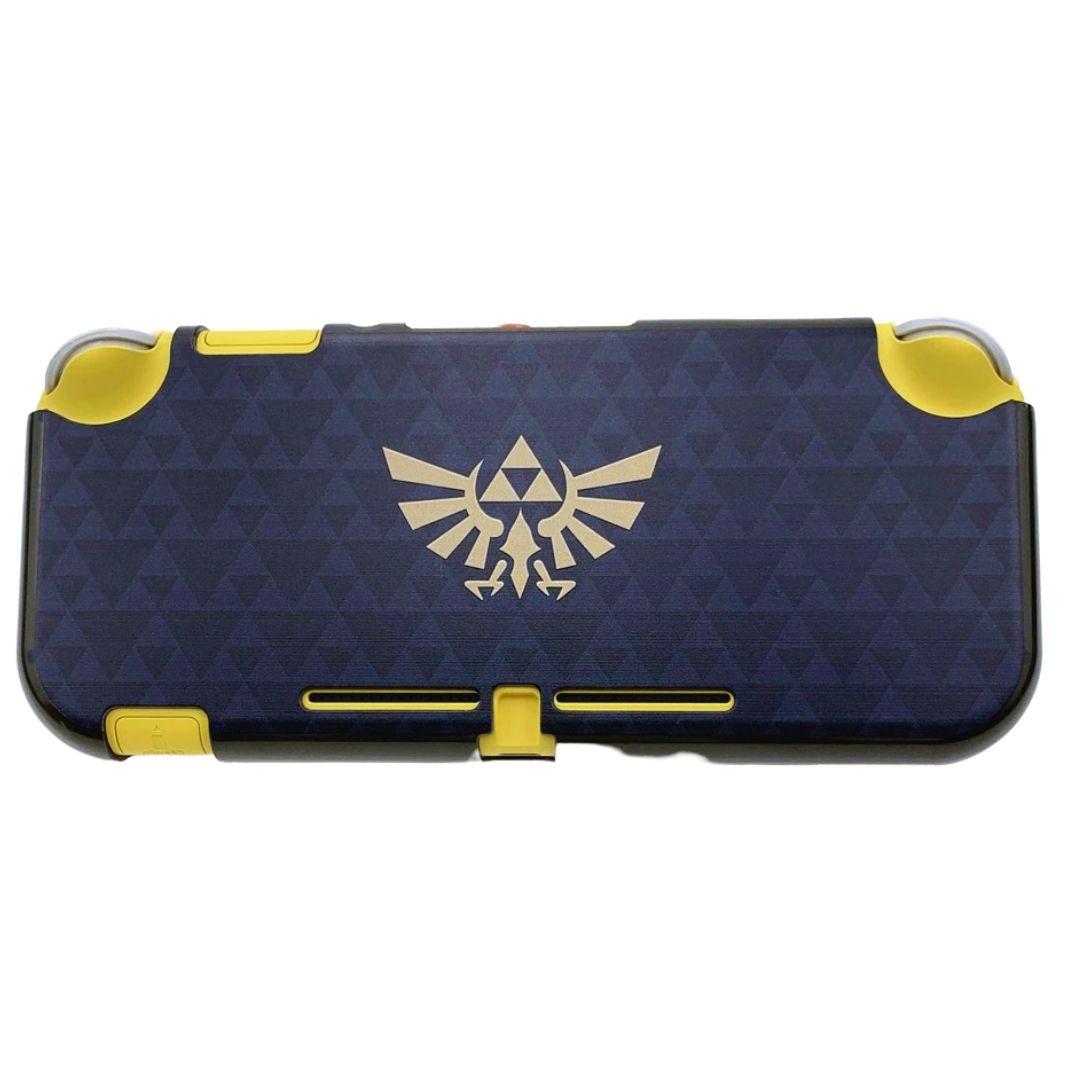 Case Capa Protetora de Acrílico - Zelda - Triforce - Nintendo Switch Lite