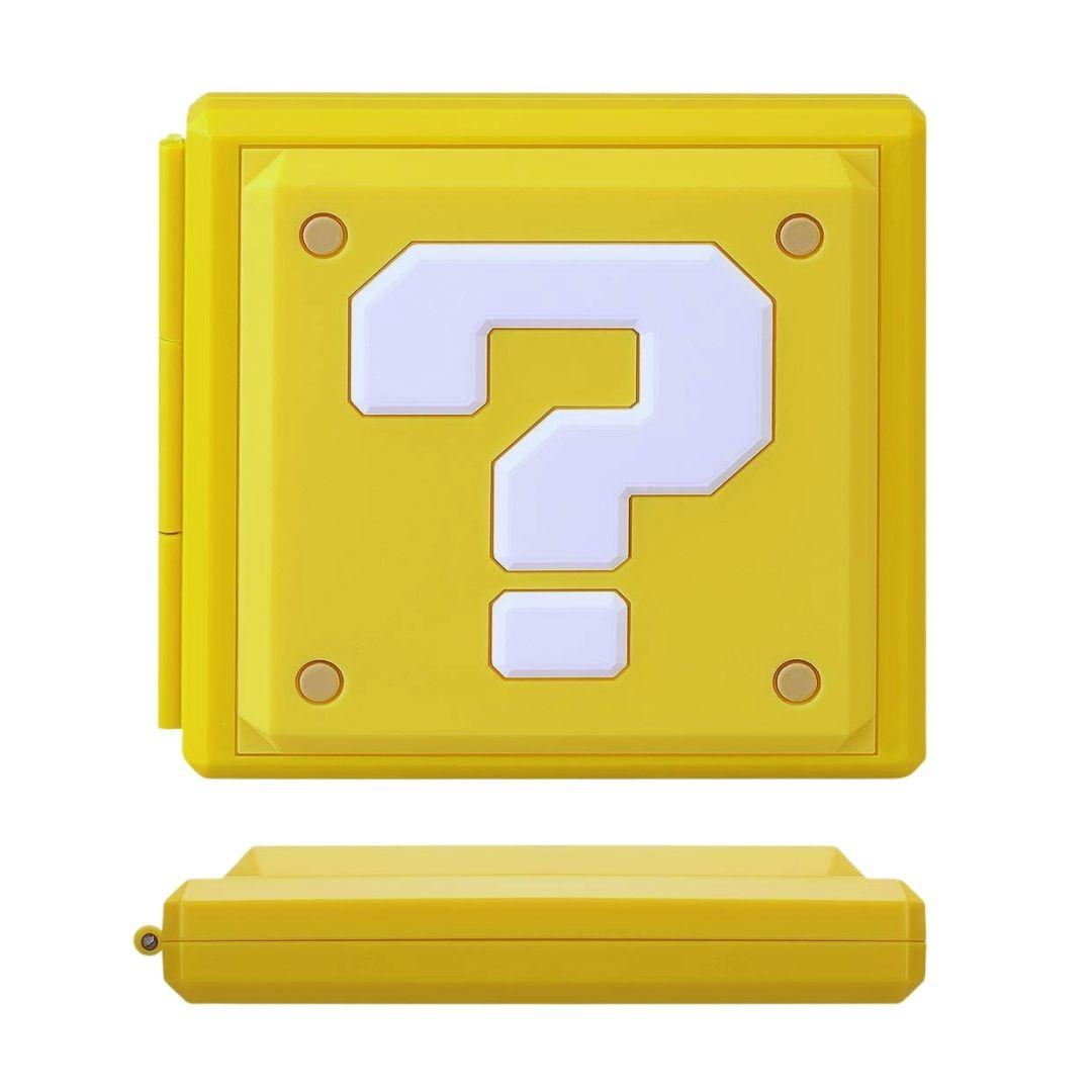Case Estojo para Cartuchos - 12 Slots - Interrogação - Nintendo Switch/Nintendo Switch Lite