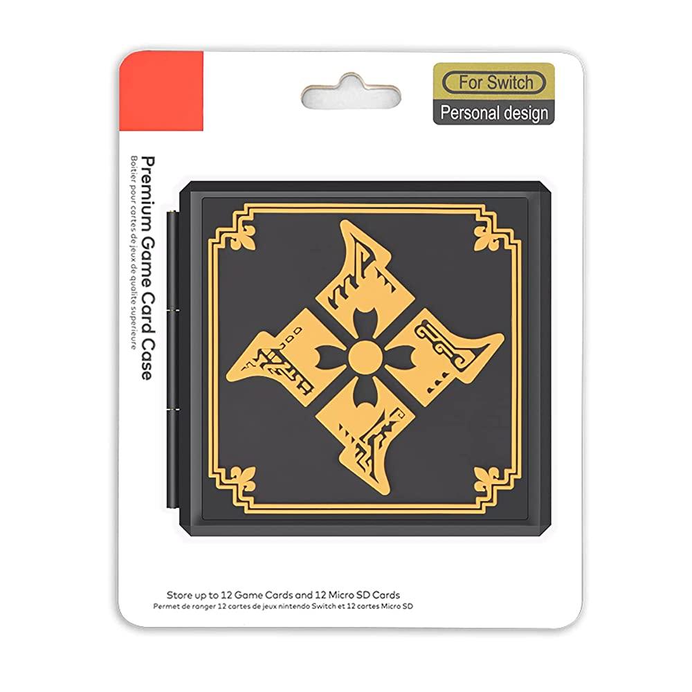 Case Estojo para Cartuchos - 12 Slots - Monster Hunter - Nintendo Switch/Nintendo Switch Lite