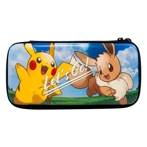Case Hard Pouch Pokémon Let´s Go Pikachu Eevee Hori – Nintendo  Switch