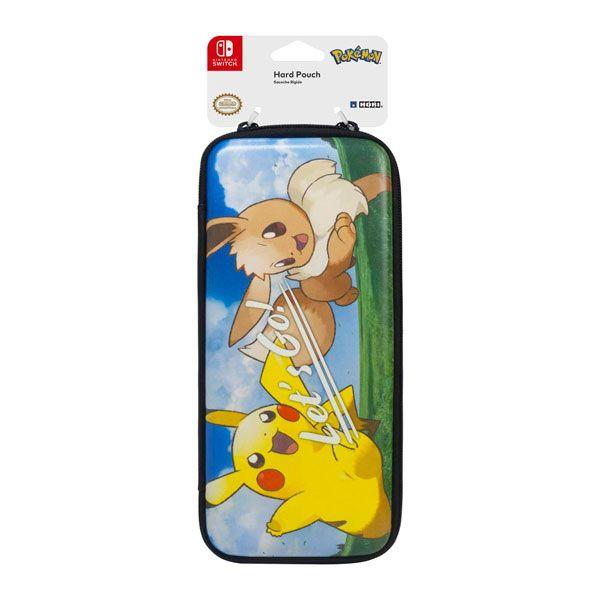 Case Hard Pouch Pokémon Let´s Go Pikachu Eevee Hori – Nintendo  Switch