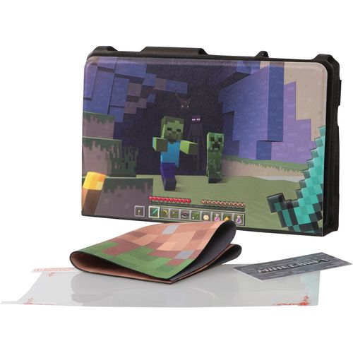 Case Hybrid Cover Minecraft World - Nintendo Switch