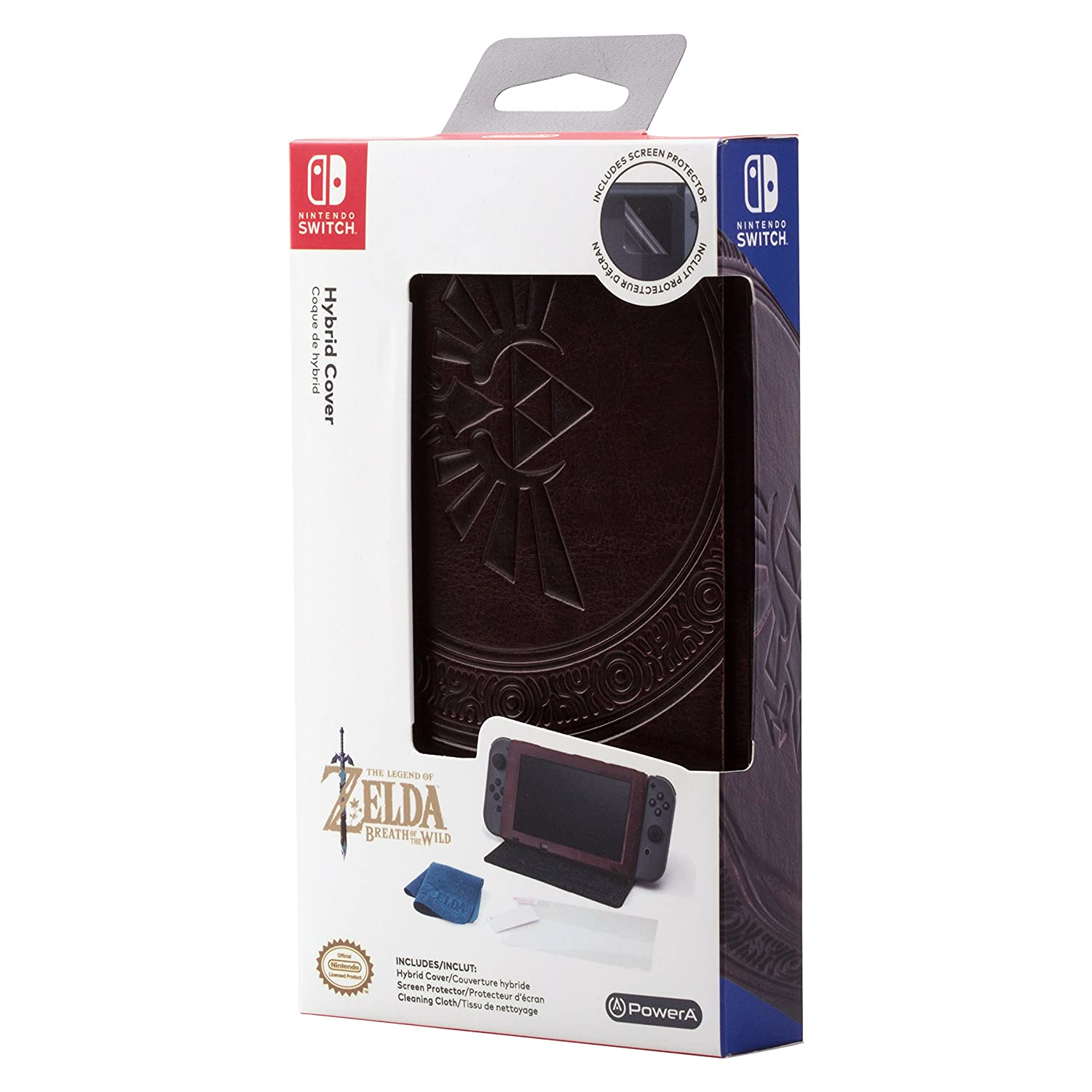 Case Hybrid Cover Zelda Leatherette (Envio Internacional) - Nintendo Switch