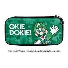 Case Luigi Verde Pdp - Nintendo Switch