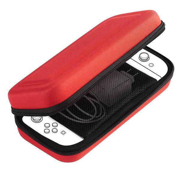 Case Pouch Size L Bigben Vermelha- Nintendo Switch