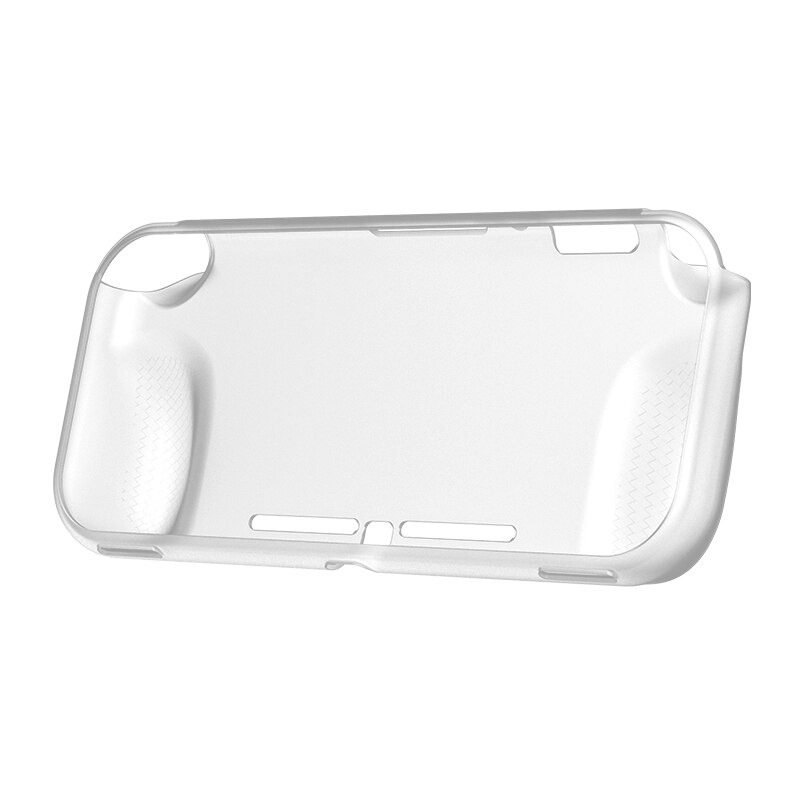Case Protetora de Silicone - Branca/Transparente - Nintendo Switch Lite