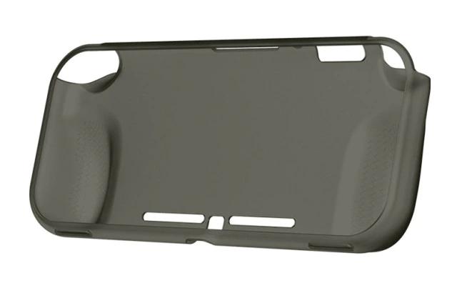 Case Protetora de Silicone - Grafite - Nintendo Switch Lite