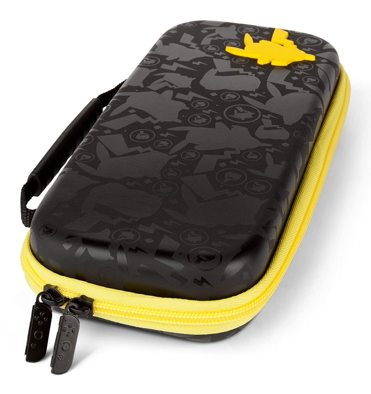 Case Protetora Powera Pikachu Silhouette - Nintendo Switch