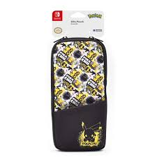 Case Protetora Slim Pikachu  - Nintendo Switch