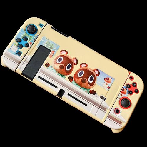 Case Protetora TPU - Animal Crossing - Nintendo Switch