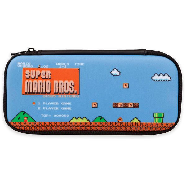 Case Slim 8 Bit Mario Bros Powera - Nintendo Switch