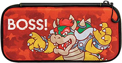 Case Slim Travel Bowser - Nintendo Switch