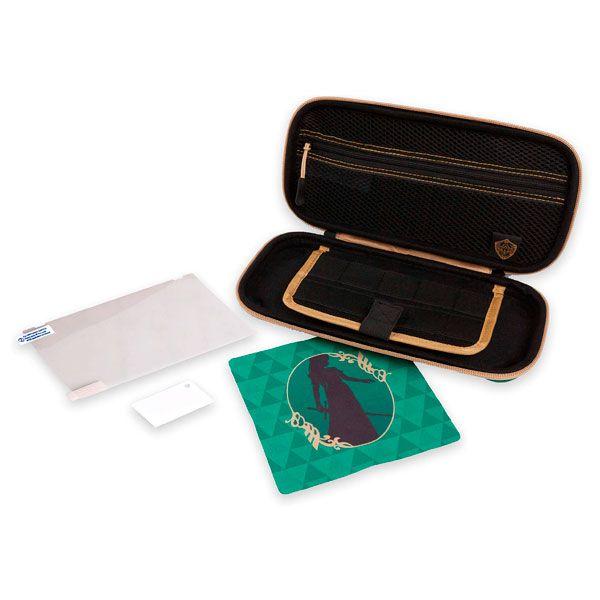 Case Travel Protection Kit Legend Of Zelda Verde  Powera - Nintendo Switch