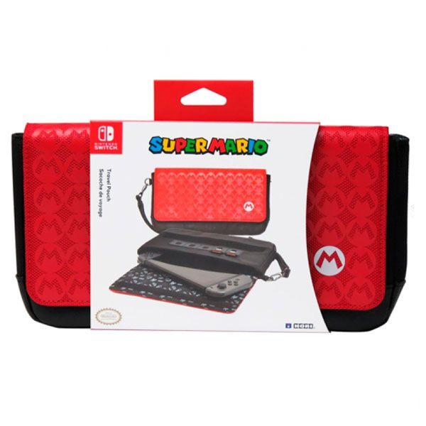 Case Traveler Sleek Super Mario Hori - Nintendo Switch