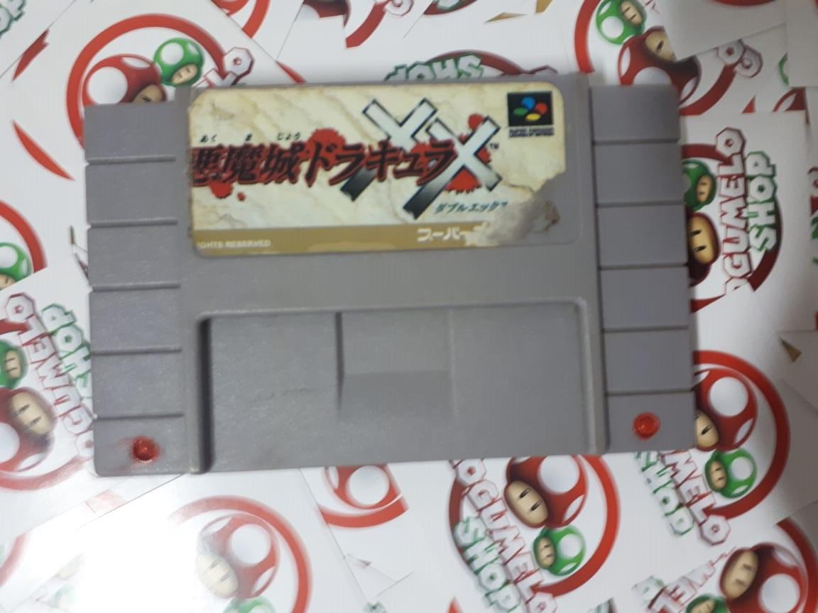 Castlevania: Dracula X - USADO - Super Nintendo