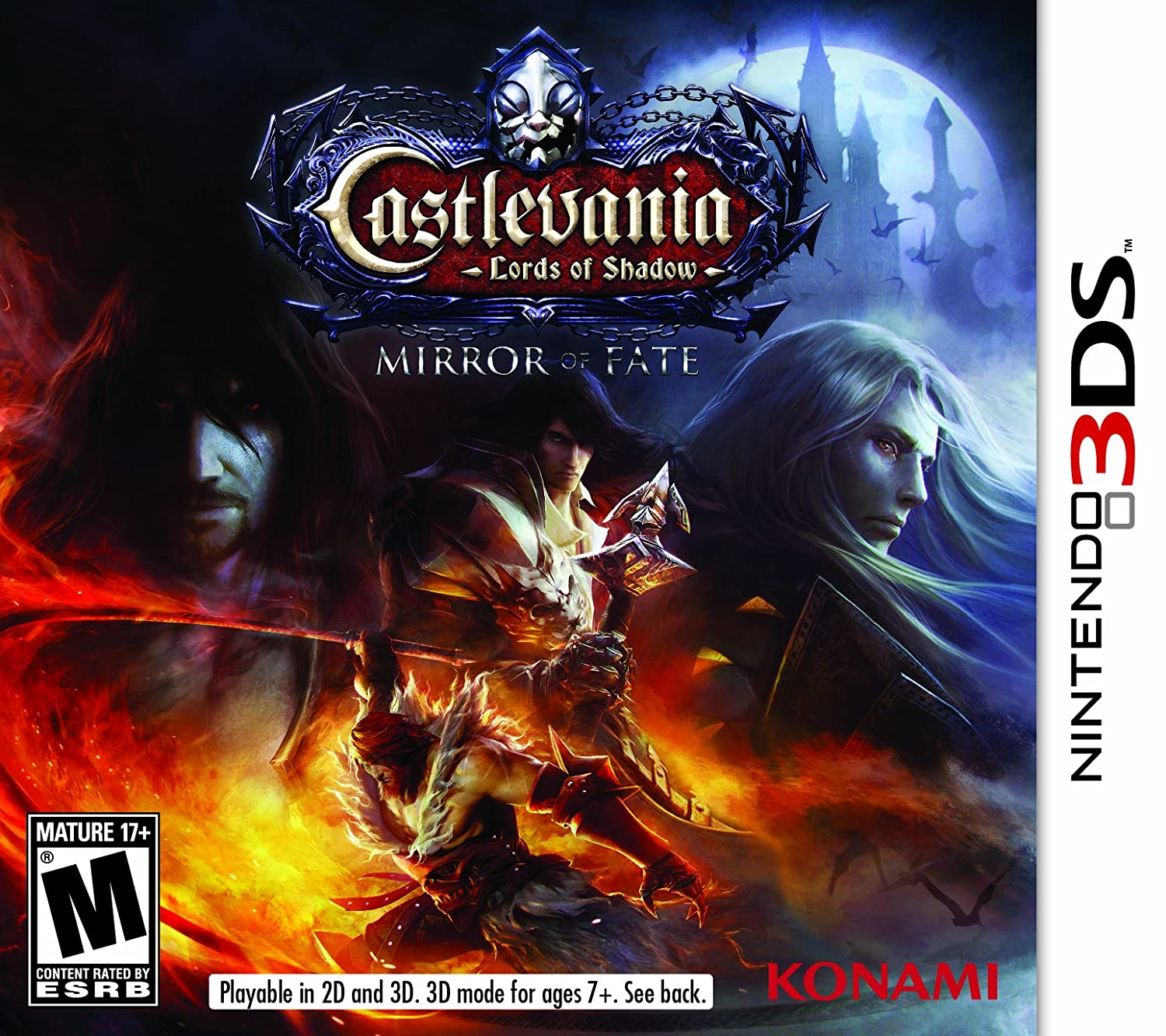 Castlevania: Lords of Shadow - Mirror of Fate - USADO - Nintendo 3DS