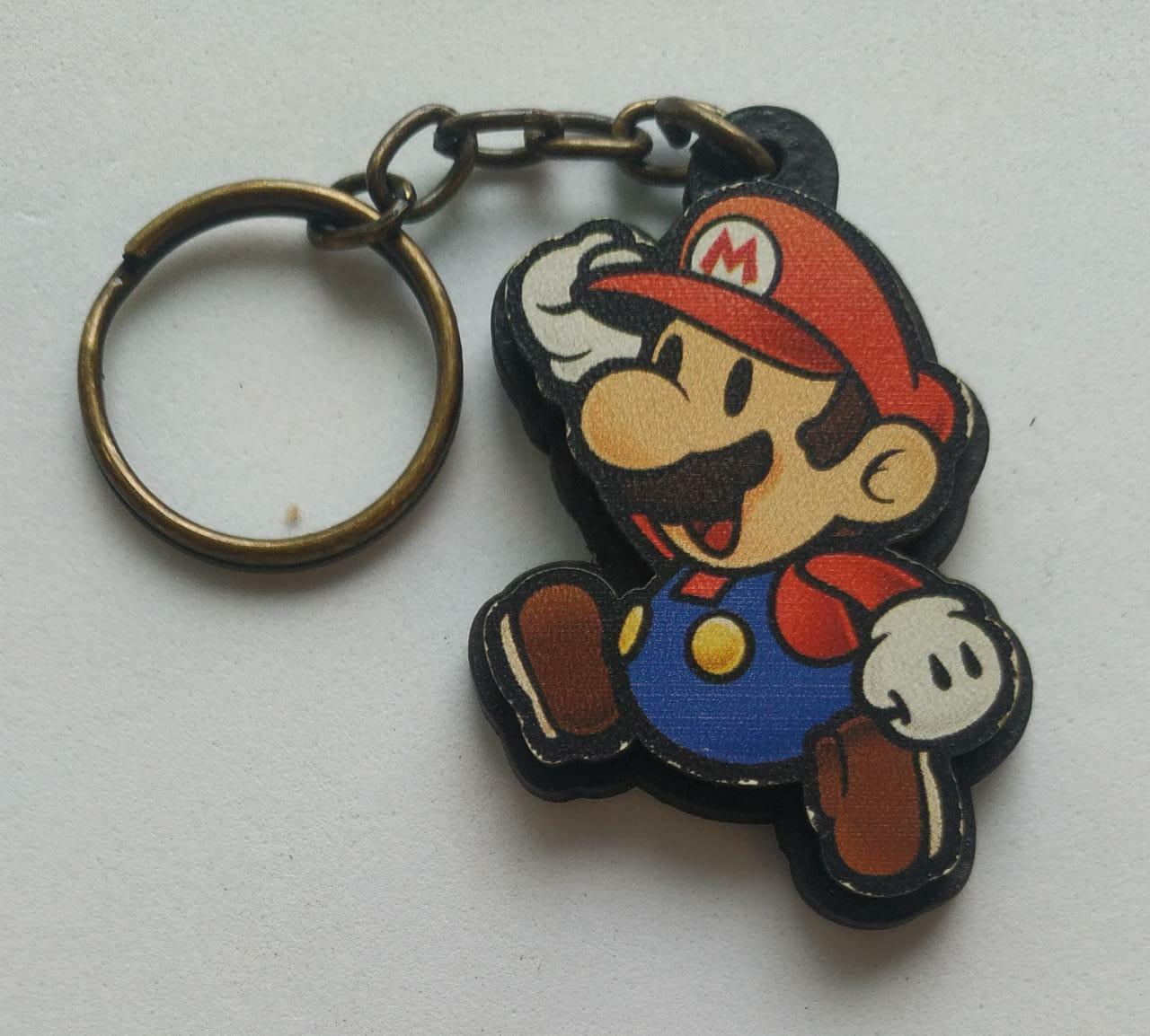 Chaveiro do Super Mario Paper: Mario