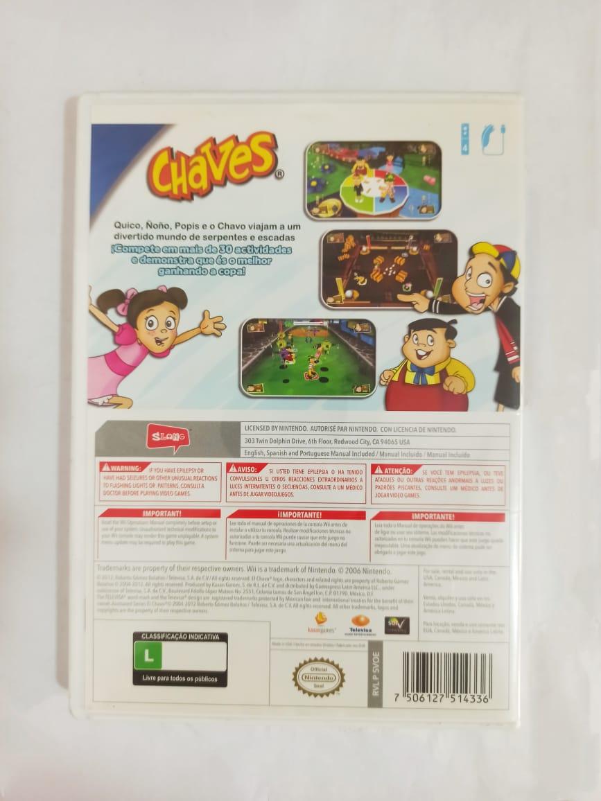 Chaves - USADO - Nintendo Wii