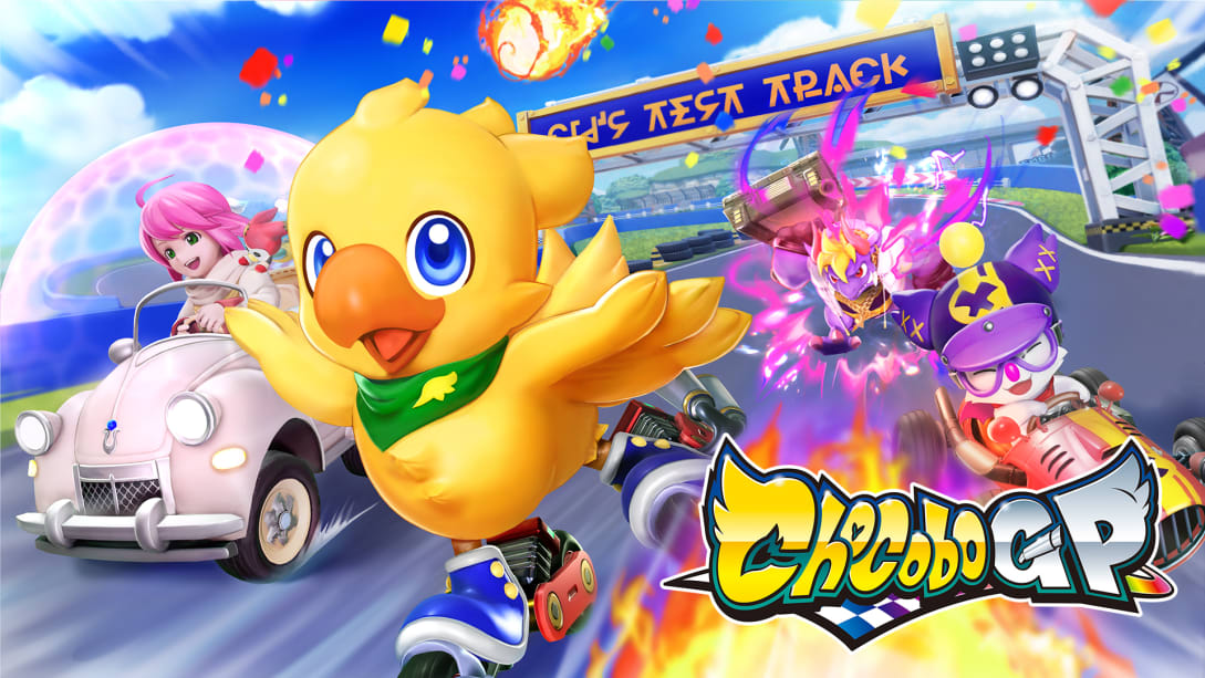 Chocobo GP - Nintendo Switch - Pré-venda - Lista de Espera