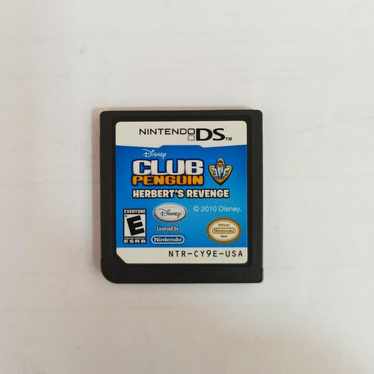 Club Penguin: Herbert's Revenge - USADO - Nintendo DS