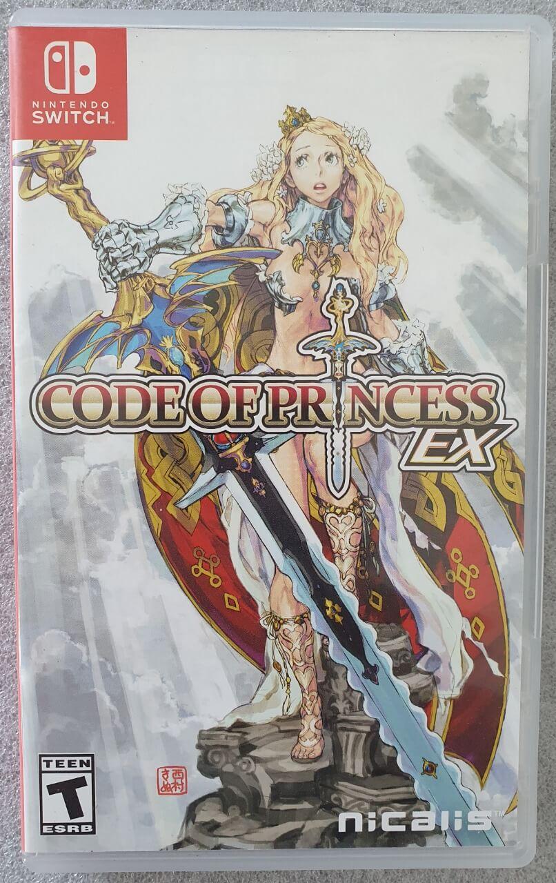 Code of Princess Ex - Usado - Nintendo Switch