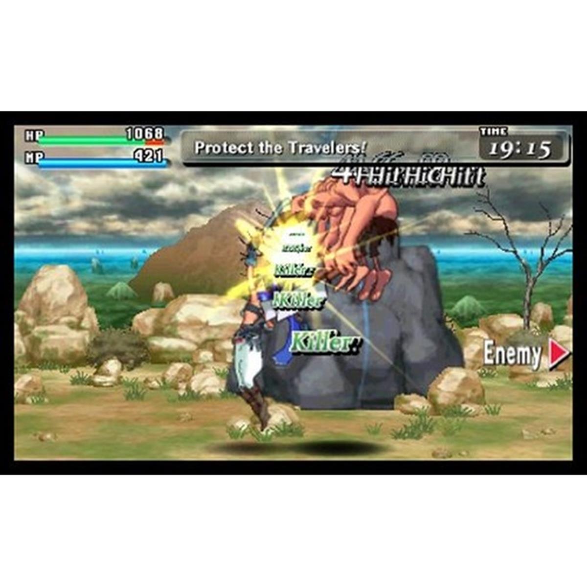 CODE OF PRINCESS - USADO - NINTENDO 3DS