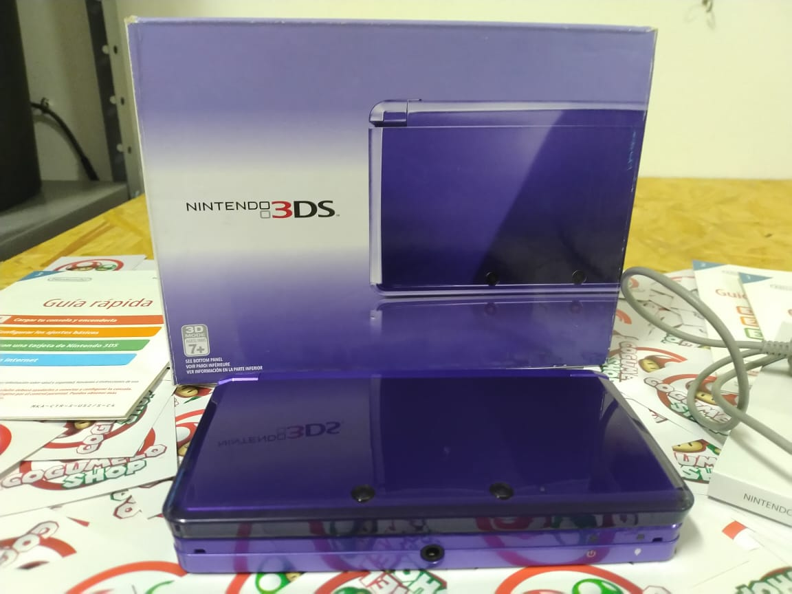Console Nintendo Midnight Purple 3DS - USADO