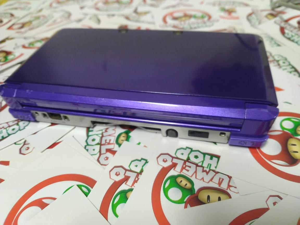 Console Nintendo Midnight Purple 3DS - USADO