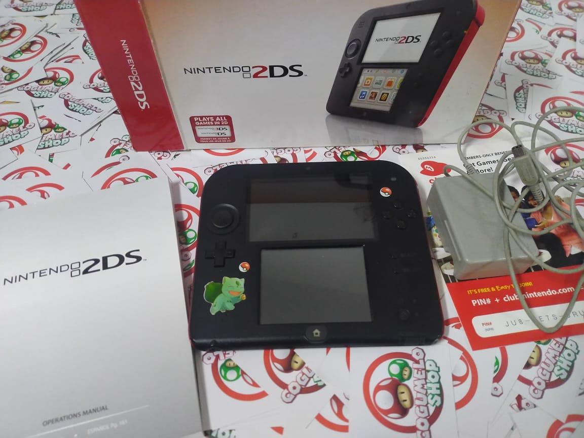 Console Nintendo 2DS Crimson Red  - USADO