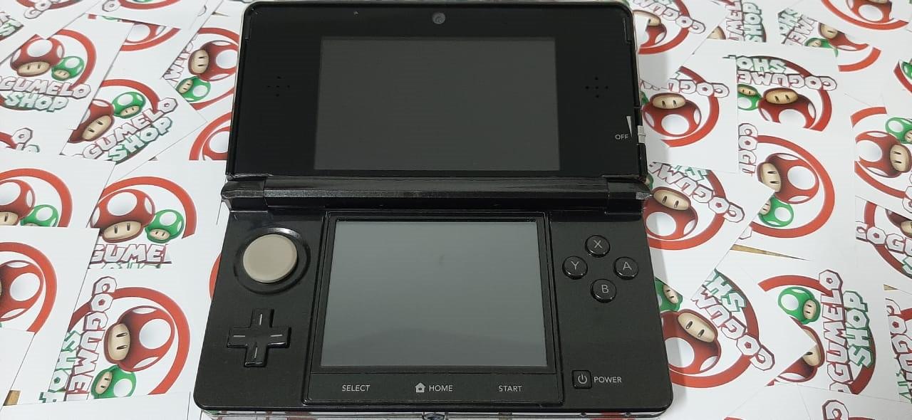Console Nintendo 3DS Cosmo Black - USADO