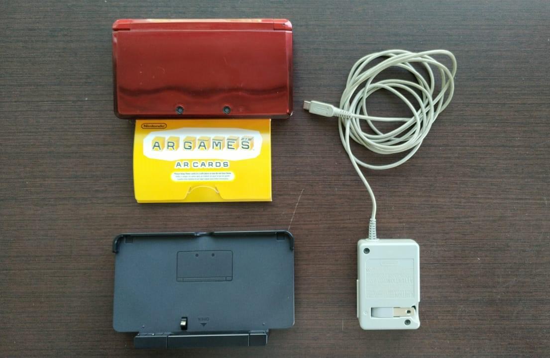 Console Nintendo 3DS -  Vermelho - Usado