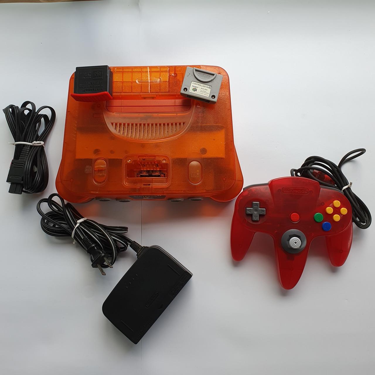 Console Nintendo 64 - Laranja - Usado
