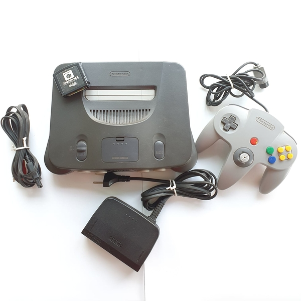 Console Nintendo 64 - Preto - Usado