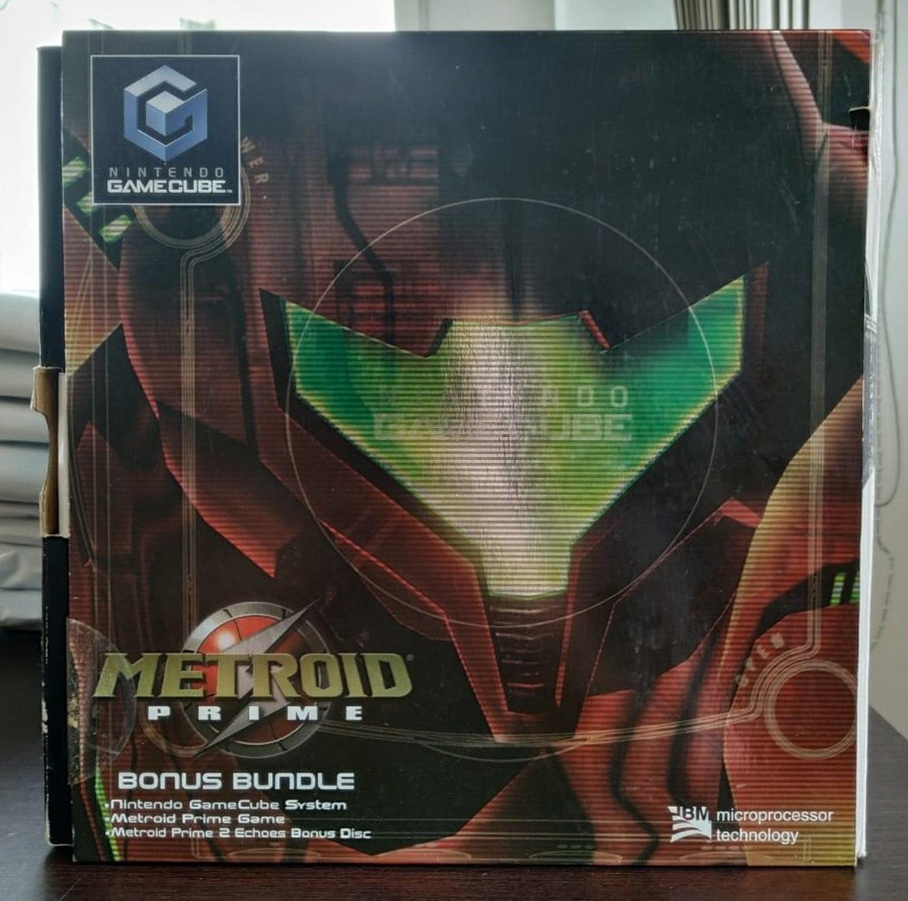 Console Nintendo GameCube + Metroid Prime Bundle - Usado