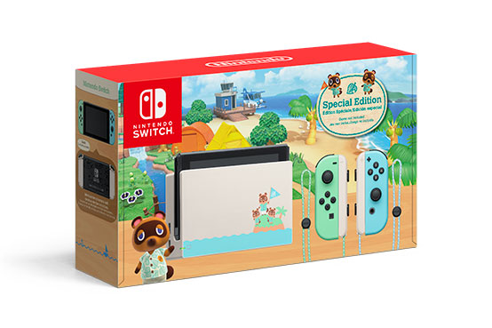 Console Nintendo Switch - Animal Crossing: New Horizons Edition