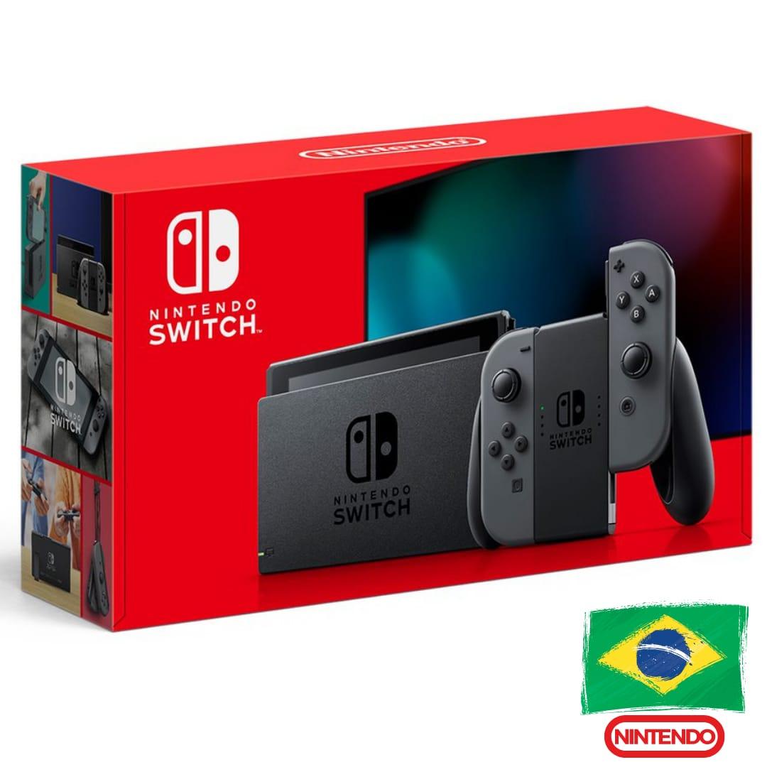 Console Nintendo Switch Cinza - Nova Edição - 32GB - Versão Nacional