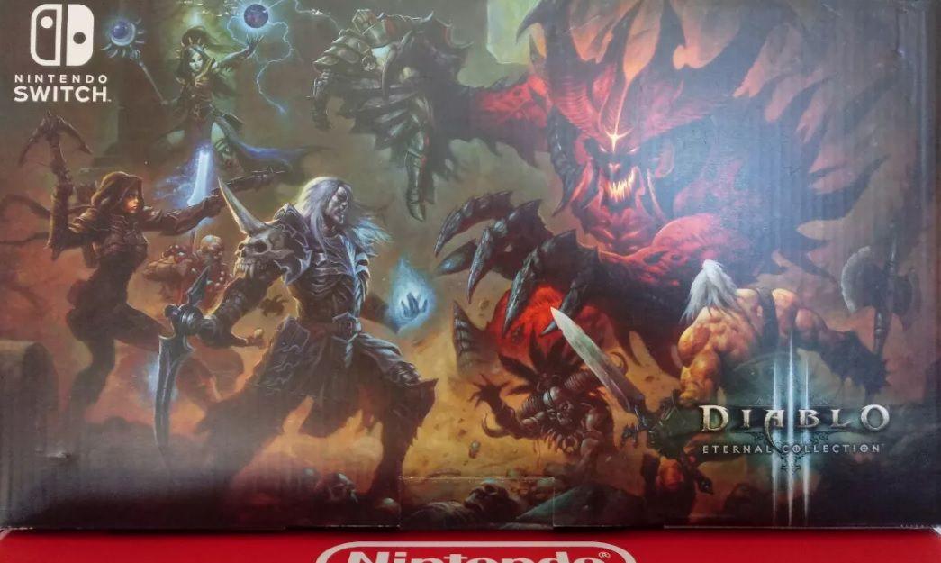 Console Nintendo Switch Diablo 3 Eternal Collection Edição