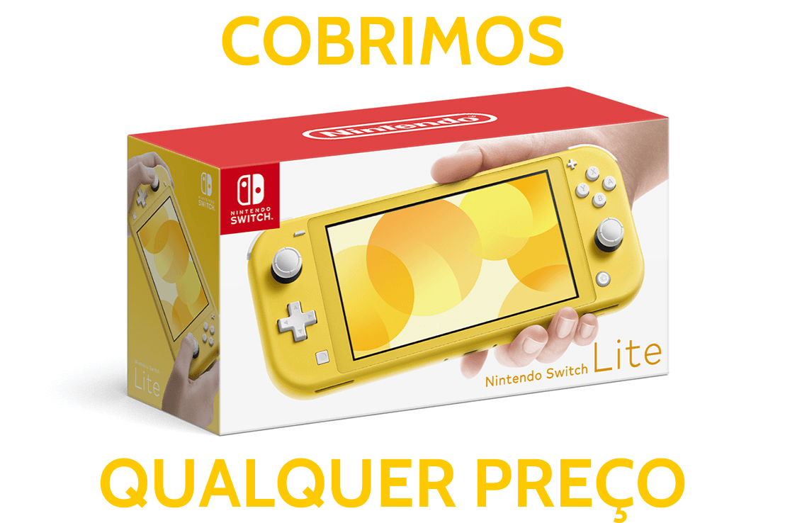 Console Nintendo Switch Lite 32GB - Amarelo