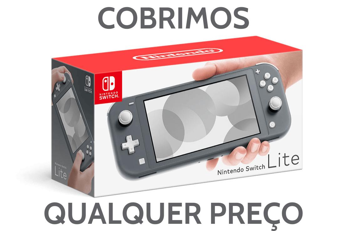 Console Nintendo Switch Lite 32GB - Cinza